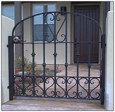 wrought iron gate 011