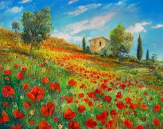 Tuscan Hills, Manfred Rapp