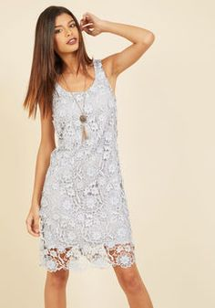 All I Ever Flaunted Lace Dress in Mist