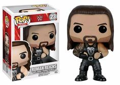 """WWE - Roman Reigns Pop! Vinyl Figure  """"My swag is off the charts!""""  Click here to collect - http://bit.ly/2gnNHLp   More available at - www.ozziecollectables.com.au"""