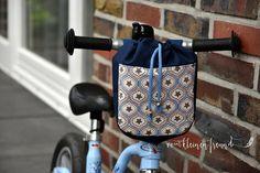 """Fahrradtasche """"drive&carry"""" (Größe SMALL) - Schnittmuster und Nähanleitungen bei Makerist"""