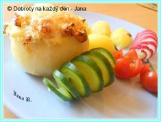 Baked Potato, Potatoes, Baking, Ethnic Recipes, Potato, Bakken, Backen, Baked Potatoes, Oven Potatoes