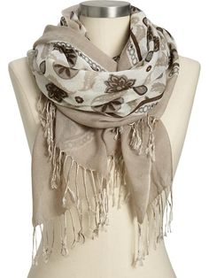 old navy scarf!