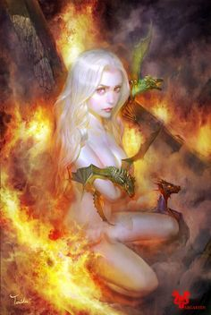 Daenerys Targareyen ,Game Of Thrones, A Song Of Ice and Fire