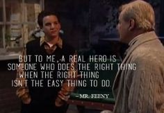 This Is the ABSOLUTELY BEST Mr. Feeny Quote