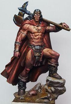 Conan Bárbaro, Conan Comics, Conan The Destroyer, Conan The Barbarian, Viking Warrior, Frank Frazetta, Character Portraits, Character Art, High Fantasy