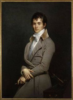 1801 Robert Lefevre - Citizen Guérin (also known as Portrait of the Painter Pierre-Narcisse Guérin)