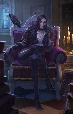The Witcher, Witcher Art, Fantasy Art Women, Dark Fantasy Art, Fantasy Girl, Fantasy Artwork, Fantasy Character Design, Character Inspiration, Character Art