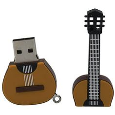 Flash from the Past: Guitar Flash Drive - Electronic Accessories - Totes & Accessories - The Met Store http://amzn.to/2pu2E2D