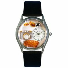 Whimsical Watches Women's S0620016 Photographer Black Leather Watch Whimsical Watches. $37.53