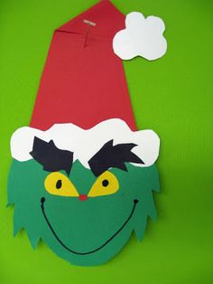 Grinch art project