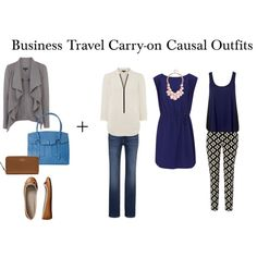 Business Travel Carry-on Causal Outfits by packingforthejourney on Polyvore featuring Reiss, Warehouse, Forever New, Levi's, Hobbs, Gap, Kate Spade and GUESS