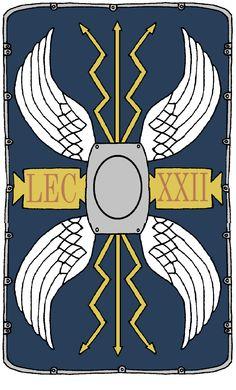 Roman Shield, Roman Armor, Ancient Rome, Ancient History, Art History, Roman Legion, Age Of Empires, Roman Soldiers, Mascot Design