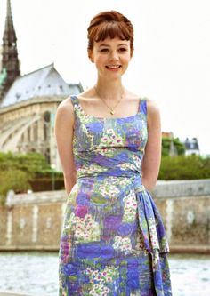 Carey Mulligan, An Education, 2009,  Costume Design by Odile Dicks-Mireaux.