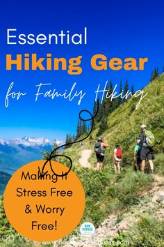 Planning to hike with kids? Having the right gear will take the worry and stress away, so you can just enjoy family time in nature. This essential hiking gear checklist will tell you the MUST HAVE hiking items for family hiking with kids. Hiking with kids. #Hiking gear. Family hiking. Hiking gear must-haves. Essential hiking gear. Hiking for beginners packing lists. Hiking for beginners. Desert hiking. Mountain hiking. National Park hiking. Hiking with toddler. Hiking with baby. Hiking…