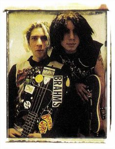 Eric Avery with Dave Navarro Jane's Addiction Classic Rock And Roll, Rock N Roll, Eric Avery, Dave Navarro, Jane's Addiction, Mike Patton, High School Years, Music Artists, Indie
