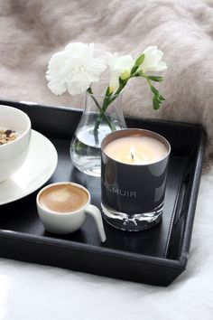 Invest in morning luxuries…