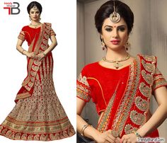 #BridalDress #TrendyCollection #EthnicWear #RedDress