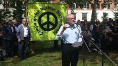 Labour parliamentarian Jeremy Corbyn speaks at the CND's event in Tavistock Square, London, Aug. 6, 2015.   Foto: Jeremy Corbyn for Labour Leader