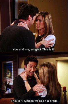 Friends - Oh Ross...