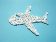 MOTIF_Jet Airplane (chisako3.exblog.jp) crochet a little's facebook page