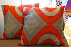 Sew a zipper pillow