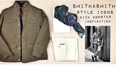 Hoy seguimos la pista de Nick Wooster, nos inspiramos en probablemente uno de las más influyentes en la moda masculina del momento. Todo las prendas en Smith & Smith