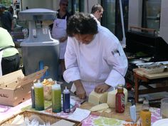 The cheese man at Kerr Village Square Ontario, Cheese, Health, Food, Health Care, Essen, Meals, Yemek, Eten