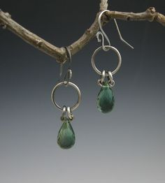 ***** Nice and simple. Don't forget to oxidize. Can also embellish with a loose wire or large jump ring.