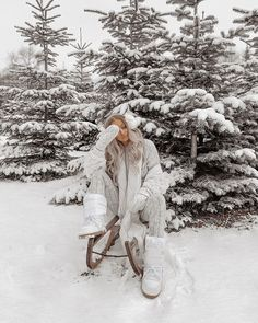 Snow - winter style