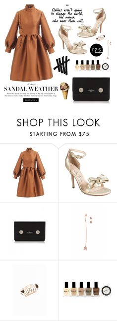 """""""Dress to impress"""" by runway2street ❤ liked on Polyvore featuring Isa Tapia and Lauren B. Beauty"""