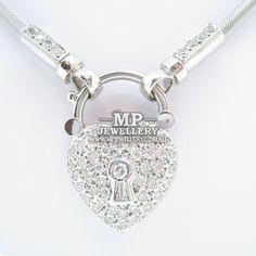 Diamond Heart Locket