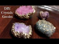 Diy Resin Crafts, Diy Arts And Crafts, Creative Crafts, Diy Crafts For Kids, Fun Crafts, Diy Crystal Crafts, Crystals For Kids, How To Make Crystals, Borax Crystals