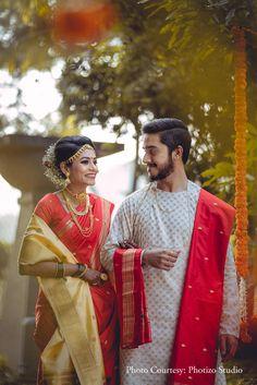 Couple Wedding Dress, Wedding Outfits For Groom, Indian Wedding Couple, Indian Wedding Outfits, Wedding Men, Wedding Couples, Bridal Outfits, Wedding Ideas, Wedding Dresses