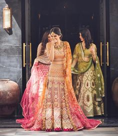 You know what we love about WMG Red Carpet Bride shoots? That the brides get to experiment with looks completely different than what they had envisioned themselves in. Take Mansha, for example- when she came in she told us that. Bridal Lehenga Choli, Indian Lehenga, Pakistani Bridal, Indian Bridal, Sabyasachi Lehengas, Bride Indian, Punjabi Bride, Indian Wedding Outfits, Bridal Outfits