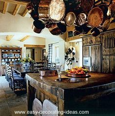 Rustic Italian Kitchen Decor