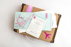 All Aboard Roadshow Invitations & Stationery Packs - Rebelle Design Table Seating Cards, Boarding Pass Invitation, Floor Stickers, Stationery Design, Instagram Shop, Corporate Gifts, Rsvp, Fun Facts, Envelope