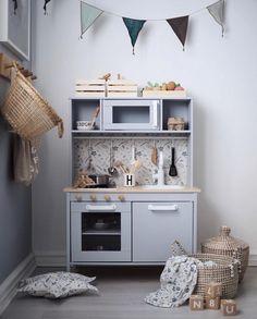 Stunning Ikea Play Kitchen Hack by Paint is from Dulux (Miller Mood) and . - Stunning Ikea Play Kitchen Hack by Paint is from Dulux (Miller Mood) and …, - # Ikea Kids Kitchen, Diy Kitchen, Kitchen Decor, Kitchen Tips, Country Kitchen, Ikea Hack Kids, Ikea Hacks, Ikea Duktig, Ikea Toys