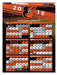 Orioles Baseball!!! Calendar View of 2015 Season Schedule. Woot Woot!!!!