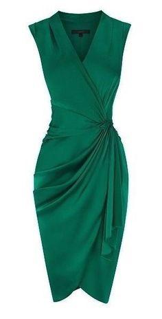 Emerald green prom dress,cheap prom dress, sleeveless evening dress,simple party from modern sky - Cocktail dress - Emerald Green Cocktail Dress, Short Cocktail Dress, Cocktail Attire, Cocktail Dress Classy Elegant, Classy Dress, Summer Cocktail Dress Wedding, Vintage Cocktail Dress, Pretty Dresses, Beautiful Dresses