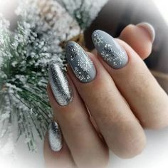 Pretty French Nails Nagel Winter and Christmas Nails Art Designs Ideas - NAI. Pretty French Nails Nagel Winter and Christmas Nails Art Designs Ideas – NAILS… – Snowflake Nail Design, Snowflake Nails, Christmas Nail Art Designs, Winter Nail Designs, Christmas Ideas, Christmas Night, New Years Nail Designs, Winter Nail Art, Winter Nails