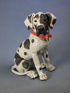 Great Dane Pup 2011 by Joanne Cooke