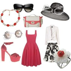 Coral Love, created by kpeck27.polyvore.com