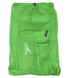 Speedo Deluxe Ventilator Mesh Bag #swimoutlet #green