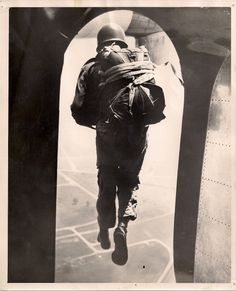 PFC George DeMaille - Paratrooper 1956; My great grandfather.