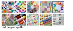 Can't get the right image to pin, BUT... great Postage Stamp Quilt Tutorial from Red Pepper Quilts