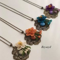 Pandora Charms, Elsa, Crochet Necklace, Bracelets, Jewelry, Instagram, Fashion, Necklaces, Moda