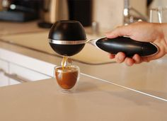 TWIST : world's first portable espresso machine. $129 is this too good to be true??? @Mark Neal