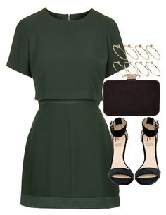 """Outfit for prom"" by ferned on Polyvore featuring Topshop, Rihanna For River Island, Monsoon and ASOS"