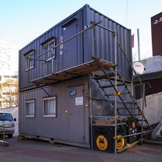 containers home tiny by seoulrider, via Flickr